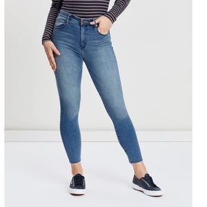 EUC Abercrombie High Rise Ankle Skinny Jean